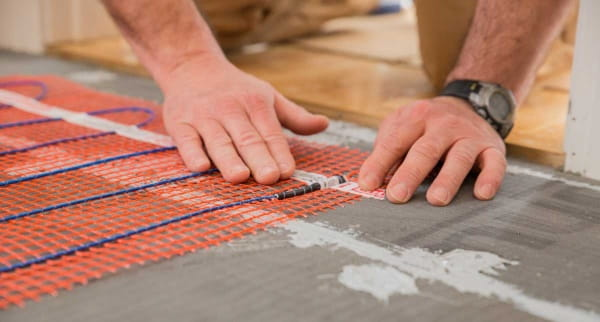 underfloor heating costs and installation